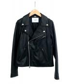 SLOBE IENA(イエナスローブ)の古着「ライダースジャケット」|ブラック