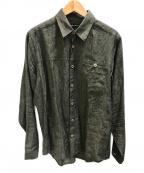 FRANK LEDER(フランクリーダー)の古着「リネンシャツ」 グレー
