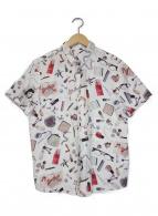 Paul Smith(ポールスミス)の古着「総柄半袖シャツ」|ホワイト