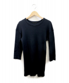 MUSE de Deuxieme Classe(ミューズ ドゥーズィエム クラス)の古着「RIB Tシャツ」|ブラック