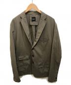 BOSS HUGO BOSS(ボス ヒューゴボス)の古着「テーラードジャケット」|ベージュ