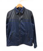 JOSEPH HOMME(ジョゼフ オム)の古着「コットンナイロンコンビジップジャケット」|ネイビー