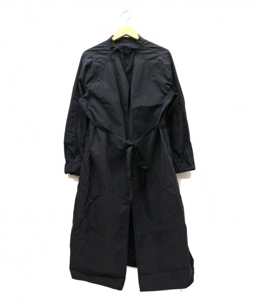 allumer(アリュメール)Allumer (アリュメール) ミリタリーエイドマンガウンコート ブラック サイズ:1 Military Aidman Gownの古着・服飾アイテム