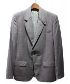 Maison Margiela(メゾンマルジェラ)の古着「ラペル切替ジャケット」|グレー