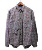 COMME des GARCONS JUNYA WATANABE MAN(コムデギャルソン ジュンヤワタナベマン)の古着「グレンチェックウールシャツ」