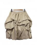 FOXEY BOUTIQUE(フォクシー ブティック)の古着「バルーンスカート」|ベージュ