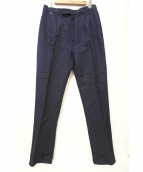 BLESS(ブレス)の古着「タックパンツ」 ネイビー