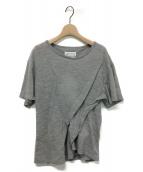 Maison Margiela 1(メゾン マルジェラ1)の古着「デザインタックTシャツ」|グレー