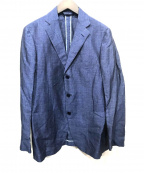 Belvest(ベルヴェスト)の古着「リネンウールジャケット」|ブルー