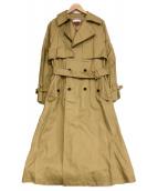 MAISON SPECIAL(メゾンスペシャル)の古着「オーバートレンチコート」|ベージュ