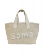 Samantha Thavasa(サマンサタバサ)の古着「サマタバトートバッグ」|ベージュ