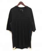 s'yte(サイト)の古着「VネックTシャツ」 ブラック