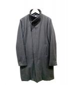 wjk(ダブルジェイケイ)の古着「スタンドカラーコート」 ブラック