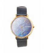 SKAGEN(スカーゲン)の古着「腕時計」 ネイビー