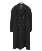 COMME des GARCONS HOMME PLUS(コムデギャルソンオムプリュス)の古着「ロングコート」|ブラック