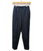Maison Margiela(メゾンマルジェラ)の古着「20SS ウールストレートパンツ」|ネイビー