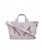 KENZO(ケンゾー)の古着「カリフォルニアハンドバッグ」|ピンク
