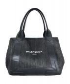 BALENCIAGA(バレンシアガ)の古着「ネイビーカバ」 ブラック