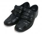 tricot COMME des GARCONS(トリコ コムデギャルソン)の古着「リボンウィングチップシューズ」|ブラック