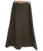 Lisiere(リジェール)の古着「Punch Flareスカート」|ブラウン