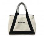 BALENCIAGA(バレンシアガ)の古着「バッグ」|ナチュラル/ブラック