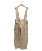 MARNI(マルニ)の古着「サスペンダー付パンツ」|ベージュ