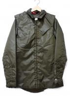UNDERCOVER(アンダーカバー)の古着「中綿ジャケット」 オリーブ