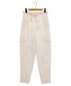 SEE BY CHLOE(シーバイクロエ)の古着「スウェットパンツ」|ホワイト