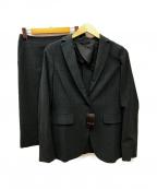 MACKINTOSH LONDON(マッキントッシュ ロンドン)の古着「スカートスーツ」|チャコールグレー