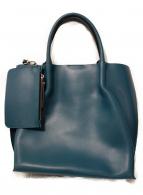 GIANNI CHIARINI(ジャンニキャリーニ)の古着「トートバッグ」|ブルー