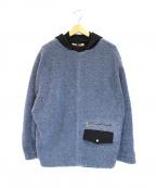 CULLNI()の古着「ボアパーカー」 ブルー