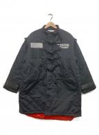 SWAGGER(スワッガー)の古着「ミリタリーロングコート」|ブラック