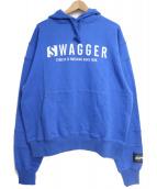SWAGGER(スワッガー)の古着「パーカー」 ブルー