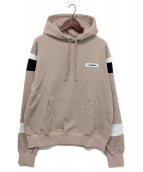 SWAGGER(スワッガー)の古着「SWITCHED HOODIE」|ライトピンク