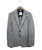 SHIPS(シップス)の古着「ハウンドトゥース2Bジャケット」|グレー