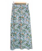 IENA(イエナ)の古着「フラワープリントスカート」