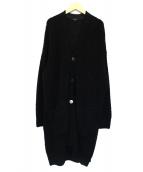 pas de calais(パドカレ)の古着「ロングカーディガン」|ブラック