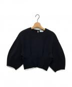 IRENE(アイレネ)の古着「ニット」 ブラック