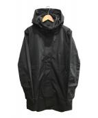()の古着「STANTON RAIN TRENCH」 ブラック