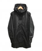 CHROME(クローム)の古着「STANTON RAIN TRENCH」 ブラック