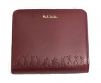 Paul Smith(ポールスミス)の古着「2つ折り財布」|ワインレッド