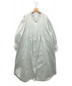 harenoti.(ハレノチ)の古着「pin tuck shirt one piece」|ミント