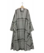 AKTE(アクテ)の古着「ロングローブコート」|グレー