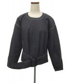 3.1 phillip lim(スリーワンフィリップリム)の古着「ブラウス」|ブラック