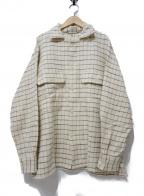 KAPTAIN SUNSHINE()の古着「シャツ」 アイボリー