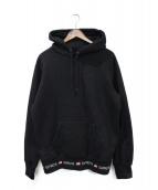 ()の古着「15AW  Logo Rib Hoodie」 ブラック