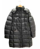 MONCLER(モンクレール)の古着「ROMARIN ダウンコート」 ブラック