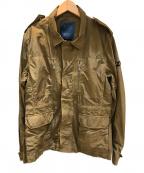 TATRAS(タトラス)の古着「ナイロンフィールドジャケット」 オリーブ
