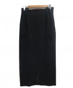 Loungedress(ラウンジドレス)の古着「サスペンダー2WAYスカート」 ブラック