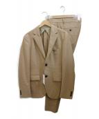 EDIFICE(エディフィス)の古着「2Bスーツ」 キャメル